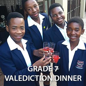 Grade 7 Valediction Dinner