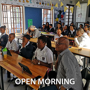 CHP Open Morning