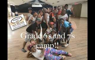 Grade 6 & 7 Camp