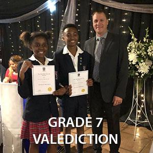 Grade 7 Valediction